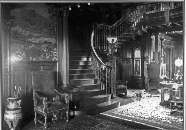 Victorian Era Foyer : Best images about mansions old for my book research on