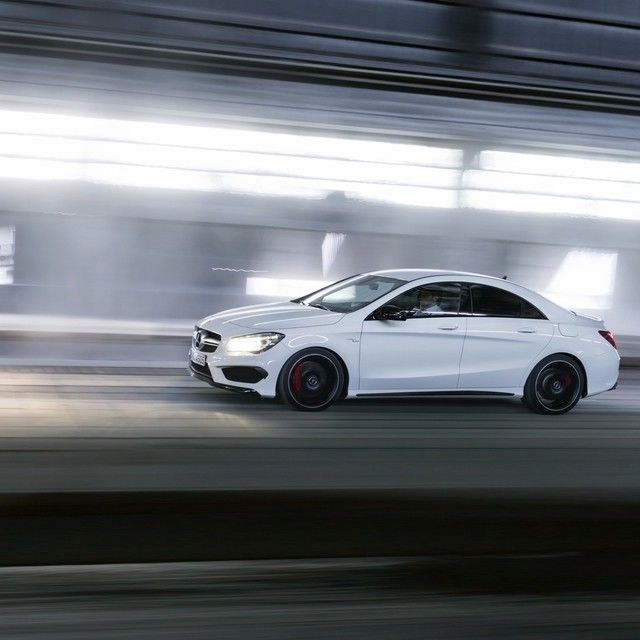 Two hands build it. Three letters put it out front.  #Mercedes #Benz #CLA45 #AMG…