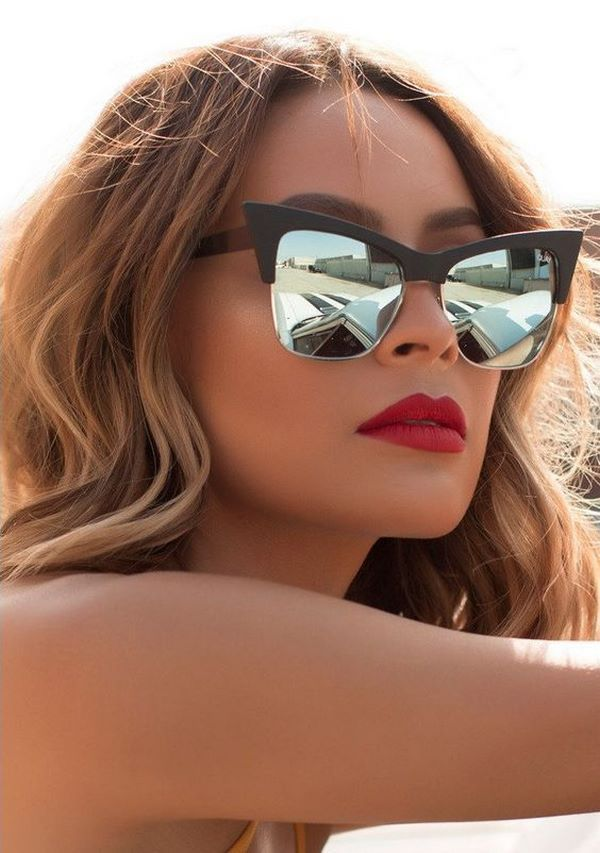 Eyewear Trends 2020.The Main Trends Of Sunglasses 2019 2020 Fashion Models And