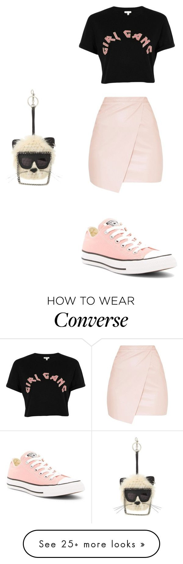 """""""Untitled #2442"""" by angfra on Polyvore featuring STELLA McCARTNEY, River Island and Converse"""