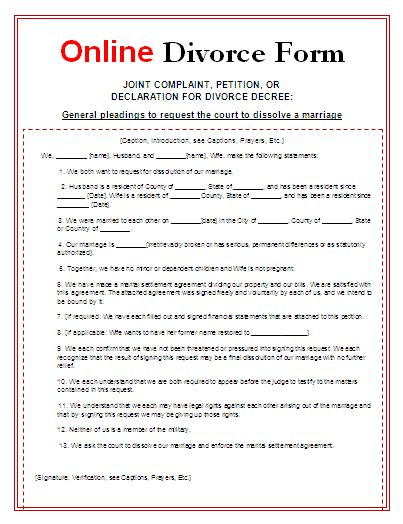 The  Best Divorce Forms Ideas On   Divorce Papers