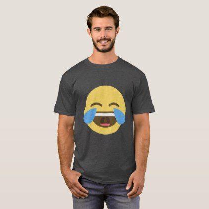 Laughing Emoji T-shirt  diy cyo personalize