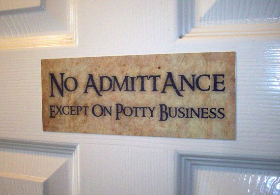 Hey, I found this really awesome Etsy listing at https://www.etsy.com/listing/204088712/toilet-sign-no-admittance-tolkien-hobbit