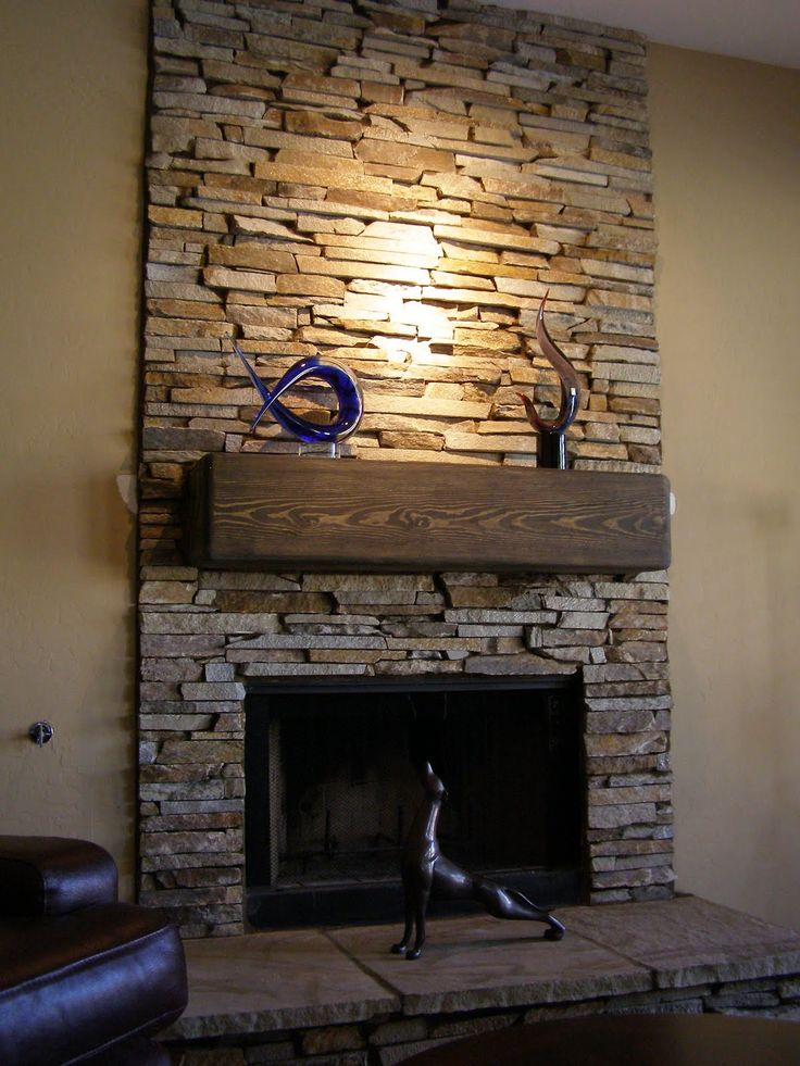 Stacked Stone Fireplace best 25+ stone veneer fireplace ideas only on pinterest | stone