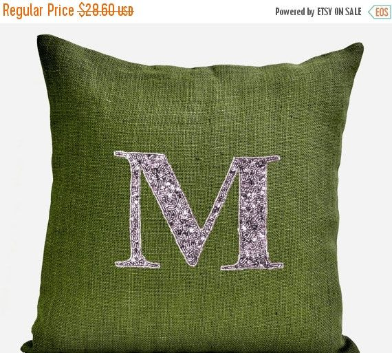 20% Sale Customized Sequin Monogram decorative by AmoreBeaute