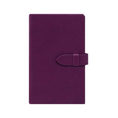 Image of Branded Castelli Mirabeau Medium Ruled Notebook With Clasp Closure