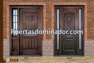 Mejores 26 im genes de puertas de entrada r stica en for Puertas macizas exterior