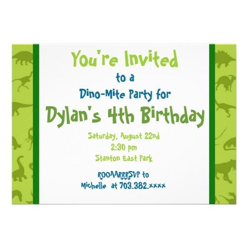 birthday party invite templates