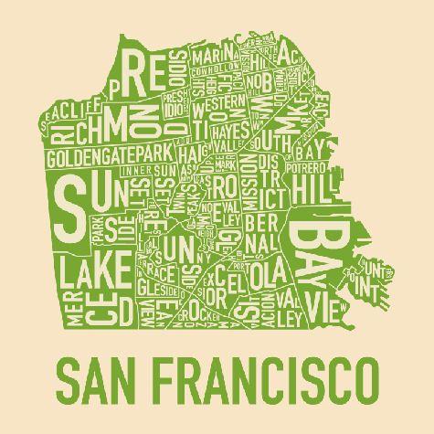 Cool SF city map