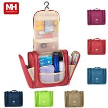 Free shipping men women's travel makeup organizer large capacity high quality make up bag , cosmetic bags maleta maquiagem(China (Mainland))