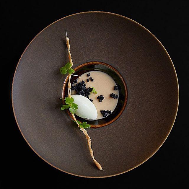 #Dessert stunner by @minapizarropastry and @shergatt of @juninyc. #Apple…