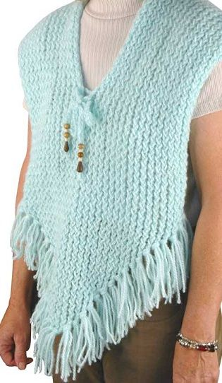 Knifty Knitter Shawl, Poncho, Shrug and Wrap Patterns
