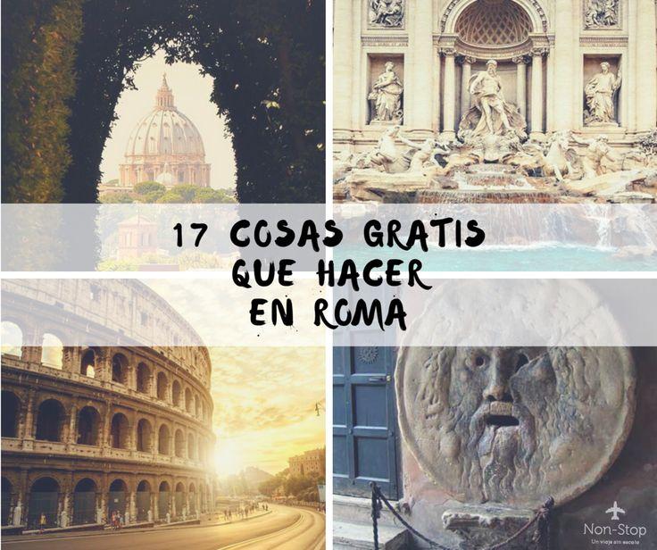 Te contamos todas las cosas que podes hacer en Roma sin gastar ni un dolar. Roma tiene fama de cara, pero sin duda se puede visitar sin gastar tanto dinero