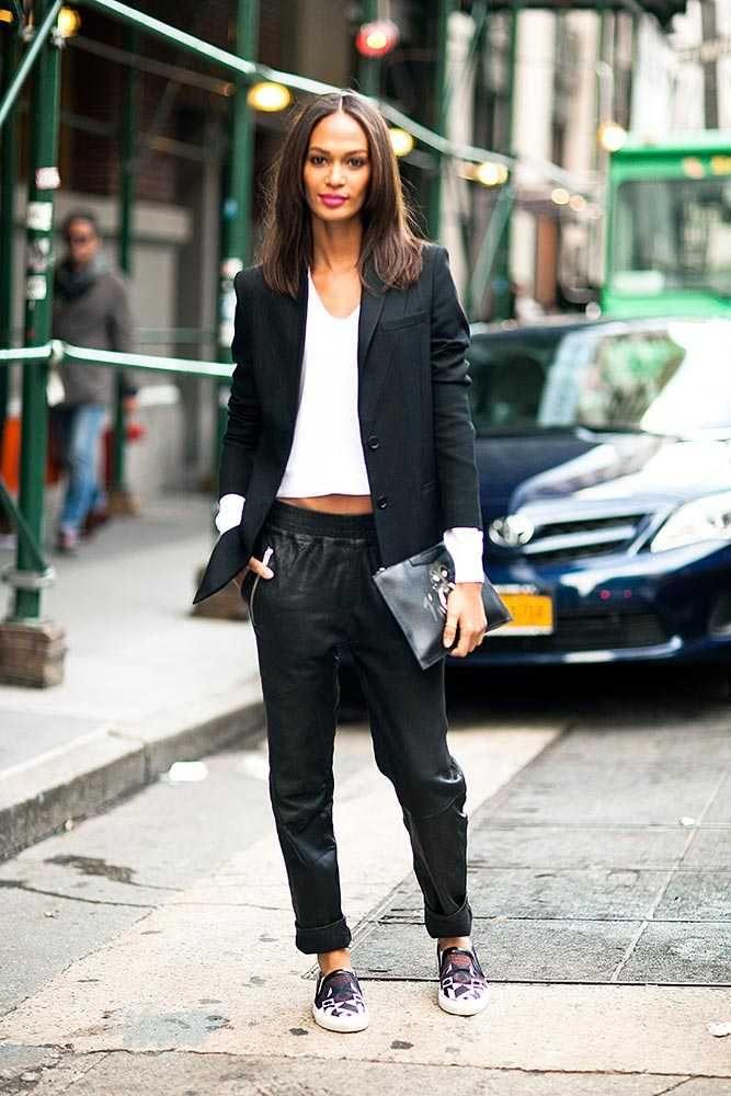 Joan Smalls - Victoria's Secret Models Off Duty Style   Fashion, Trends, Beauty Tips & Celebrity Style Magazine   ELLE UK