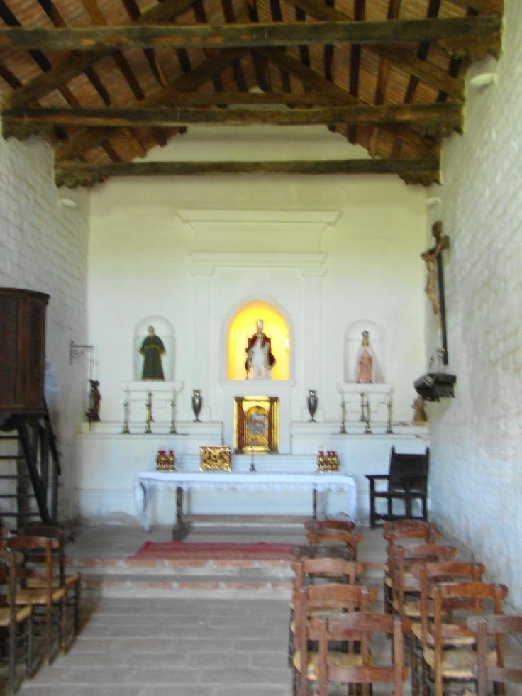 Interior capilla del 1600, San Pedro Viejo