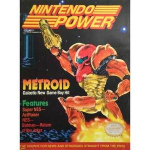 Nintendo Power - Issue #31 Metroid