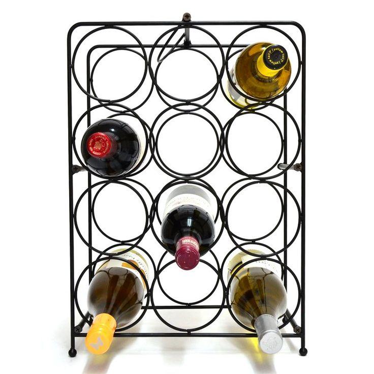 Superiore Livello Napoli 12 Bottle Tabletop Wine Rack & Reviews | Wayfair