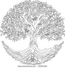 scottish celtic tree of life coloring - Google Search | A ...