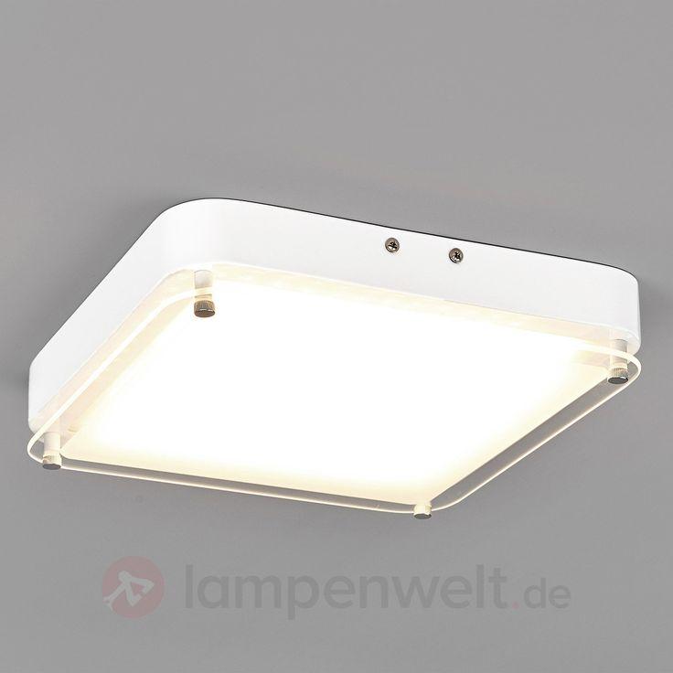 LED-Deckenlampe Aija mit teilsatiniertem Glas sicher & bequem online bestellen bei Lampenwelt.de.