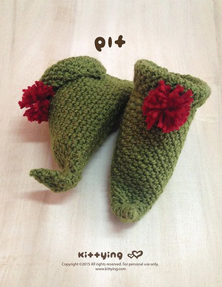 17 Best images about Elf Newborn Christmas elf, Booties crochet and Baby bo...