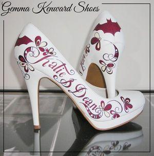 Customised Batman Wedding Shoes Batmanshoes Batmanwedding Batmanweddingshoes