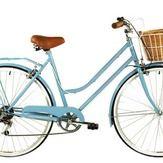6 Speed Baby Blue Vintage Ladies Bike
