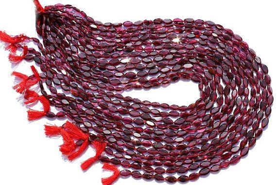 Natural Garnet Marquise Faceted Beads Quality AA 4x7 to  #garnet #garnetbeads #garnetbead #garnetmarquise #marquisebeads #beadswholesaler #semipreciousstone #gemstonebeads #gemrare #beadwork #beadstore #bead