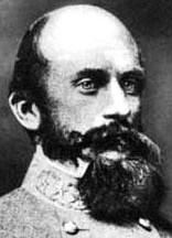 Richard Stoddert Ewell (February 8, 1817 – January 25, 1872) was a career United States Army officer and a Confederate general during the American Civil War. He achieved fame as a senior commander under Stonewall Jackson and Robert E. Lee and fought effectively through much of the war, but his legacy has been clouded by controversies over his actions at the Battle of Gettysburg and at the Battle of Spotsylvania Court House.