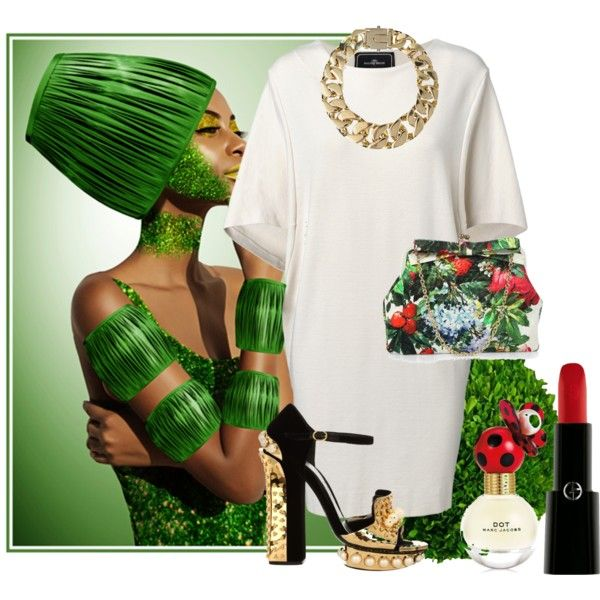 """""""Green mood"""" by madlene-137 on Polyvore"""