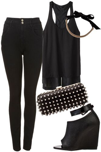 How To Wear All Black - All Black Outfits