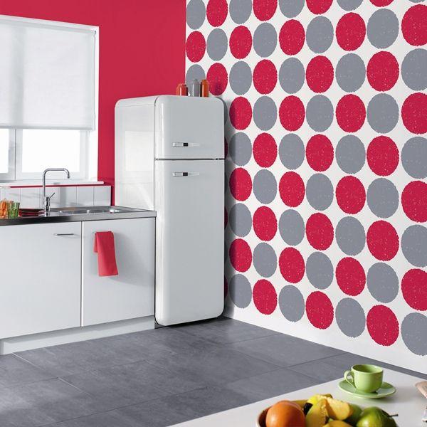 Papel cocina pared gallery of moderno mosaico papel for Papel vinilico para cocinas