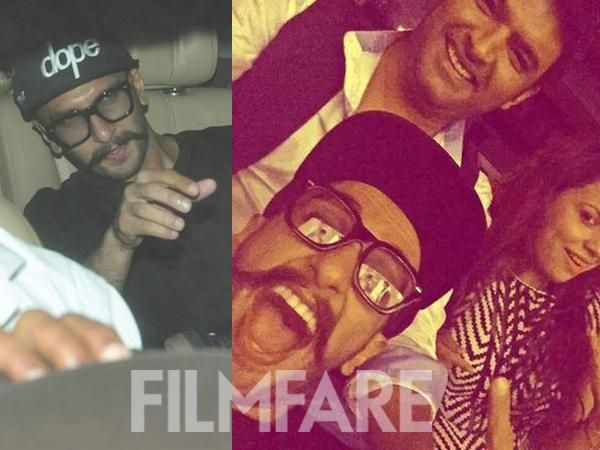 .@RanveerOfficial watches @KapilSharmaK9's #KisKiskoPyaarKaroon.  Click here for pictures:  http://bit.ly/1VeyfNX