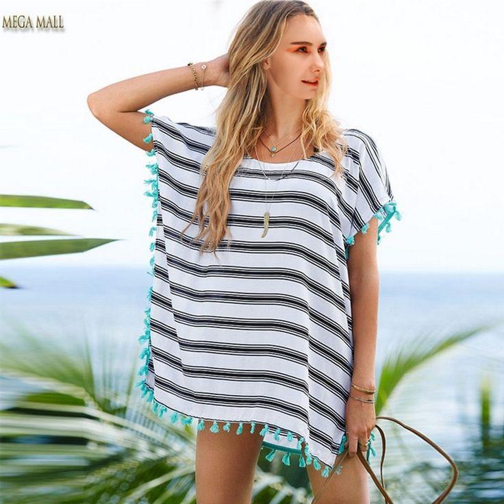 Платья туника для пляжа купить