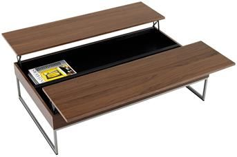 Granville functional coffee table with storage