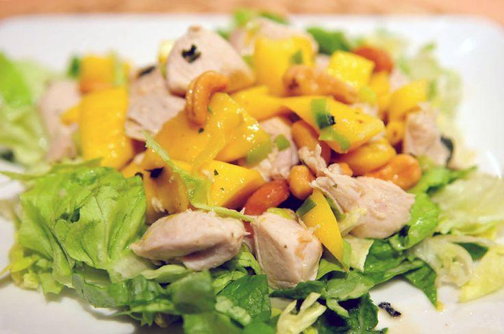 Kip met mango en cashewnotenKip met mango en cashewnoten