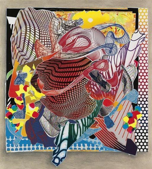 Les 259 meilleures images du tableau frank stella sur for Frank stella peinture