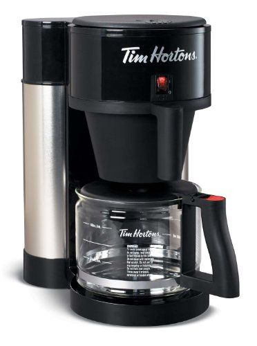 Tim Hortons Coffee Maker by Bunn - http://www.teacoffeestore.com/tim-hortons-coffee-maker-by ...
