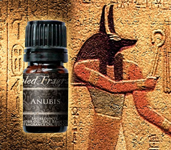 ANUBIS Cologne Oil 5mL Amber Bottle 10mL by FabledFragrances, $11.00. Amber Resin, Dark Patchouli, Deep Musk