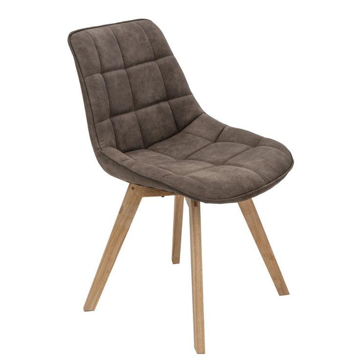 Woody kárpitozott szék barna Woody szék rendkívül
