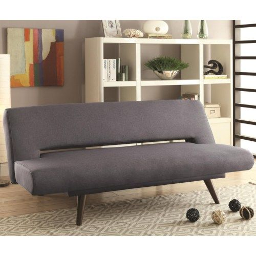 $400 Coaster Sofa Beds and Futons - Mid Century Modern Adjustable Sofa Bed - Coaster Fine Furniture
