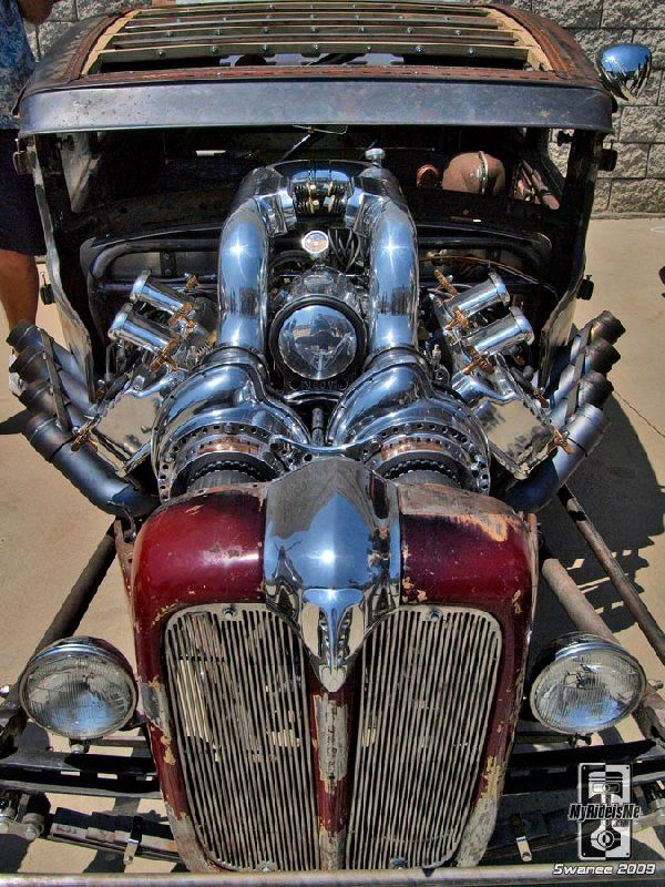 Blown Hemi Hot Rod Hemi Twin Blowers Merc Pinterest