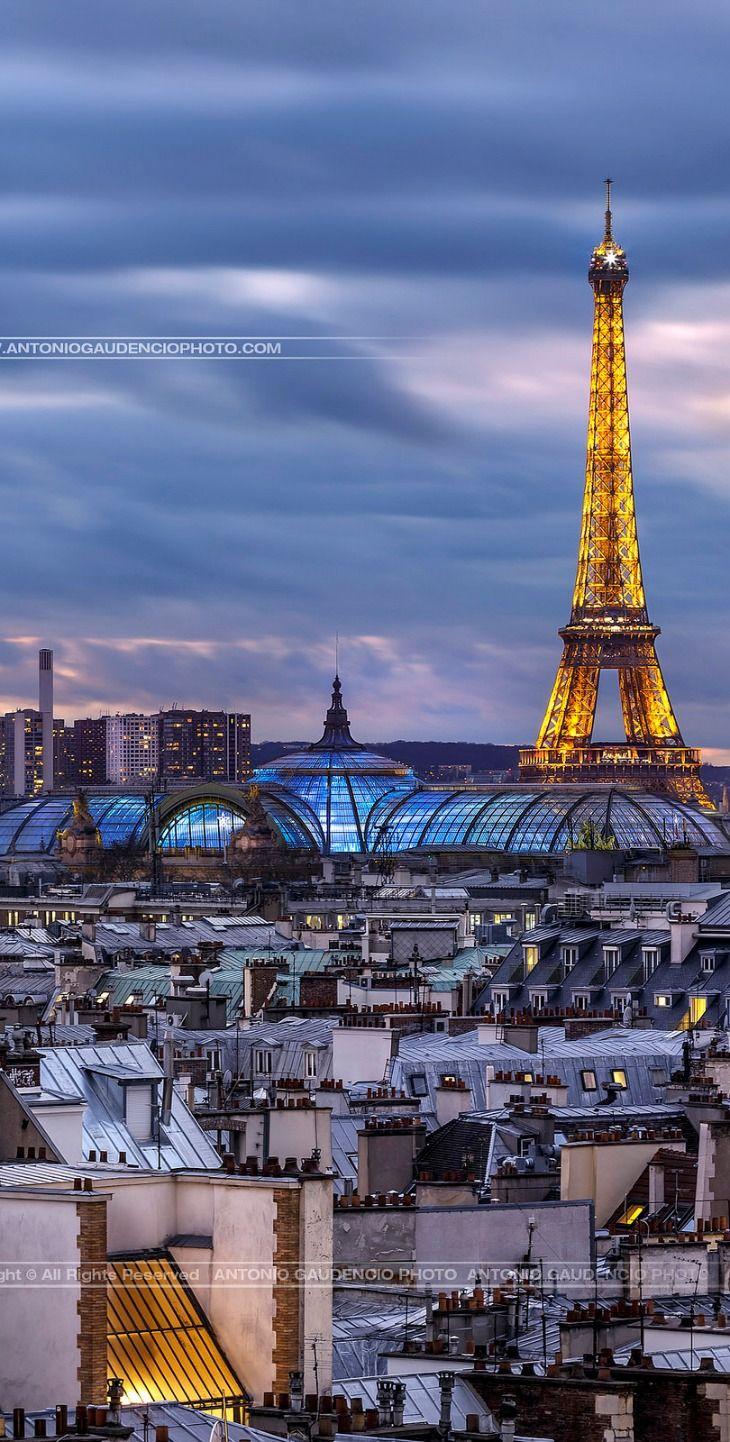 Tour Eiffel et Grand Palais, Paris, France                                                                                                                                                      More