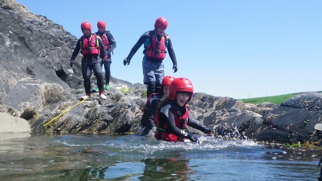 Wicked little movie produced by a recent client #Coasteering2013