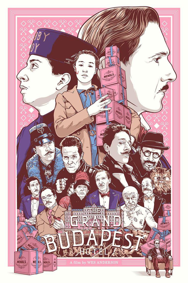 Joshua Budich, The Grand Budapest Hotel