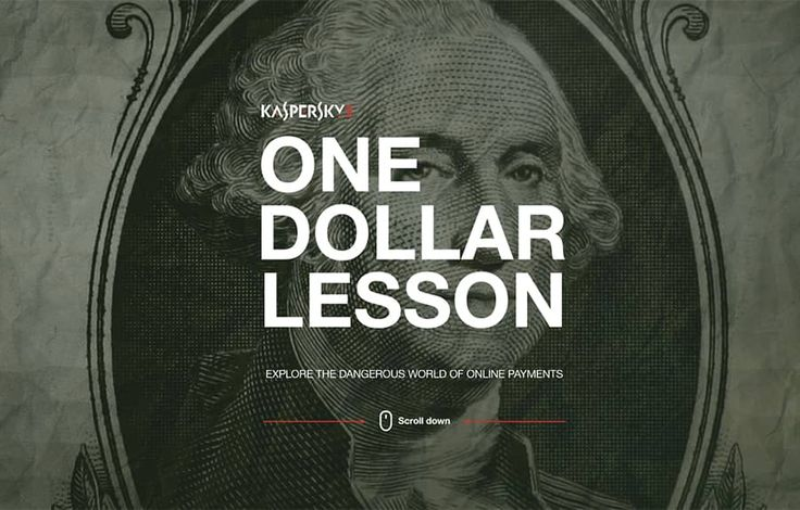 Kaspersky One Dollar Lesson, by Wrong Digital