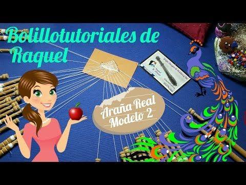 Araña Real MODELO 2 de Encaje de Bolillos, de LOLA. Bolillotutorial Raquel M. Adsuar - YouTube