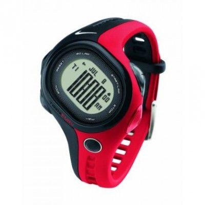 Relógio Nike Unisex Fury 50 Regular Watch - BLACK/SPORT RED One Size #relogio #Nike