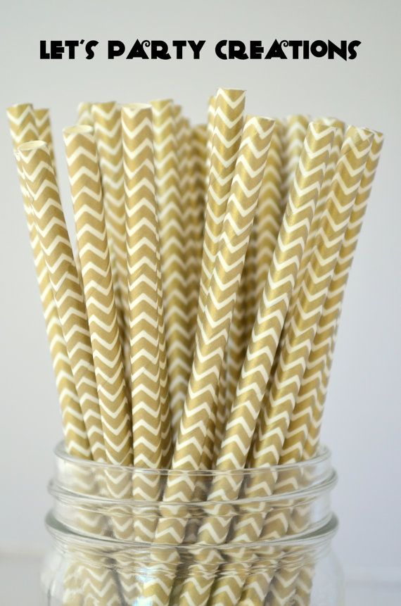 Hey, I found this really awesome Etsy listing at https://www.etsy.com/listing/164987077/paper-straws-gold-paper-straws-25