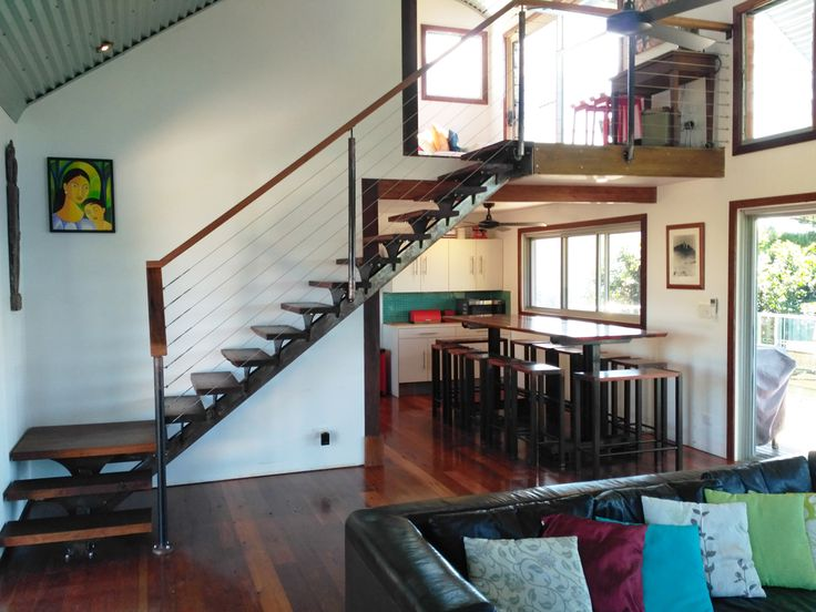 Best Eagles Nest Main Arm Nsw Steel Stairs Wood Metal Stairs 640 x 480
