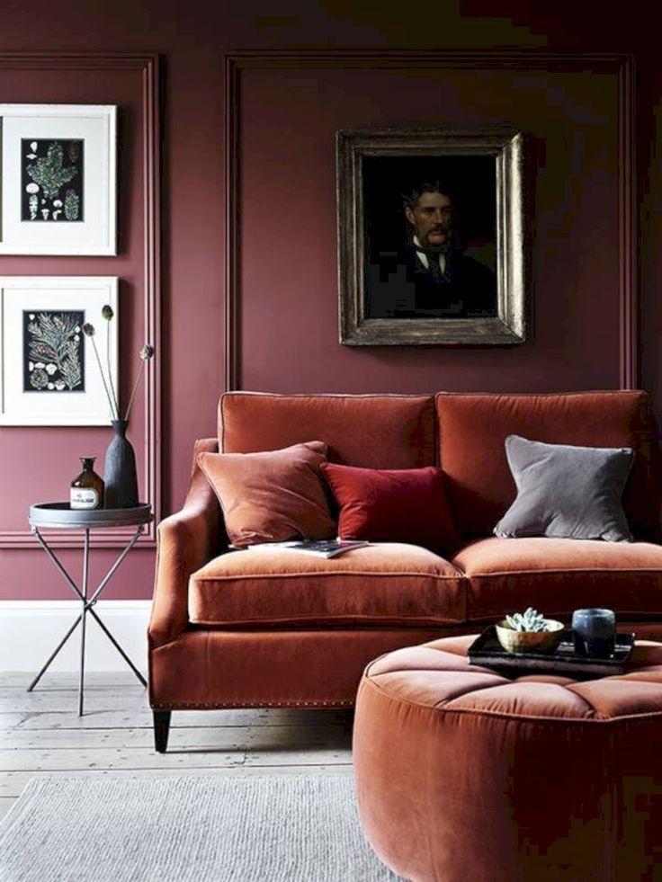 Die besten 25+ Kastanienbraune wohnzimmer Ideen auf Pinterest - wohnzimmer mit brauner couch